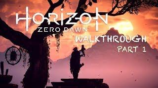 Horizon Zero Dawn Walkthrough Part 1