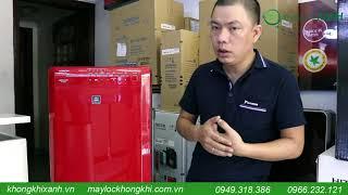 [Review] Máy lọc không khí và tạo ẩm Hitachi EP-A6000 Made in Japan