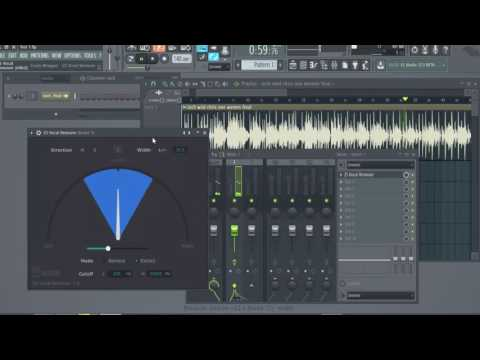 Isolate vocals + Remove Background Music by Lochman