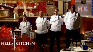 Petrozza Nominates Himself For Elimination | Hell's Kitchen