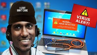 TECH SUPPORT SCAMMER CURES MY DEPRESSION!