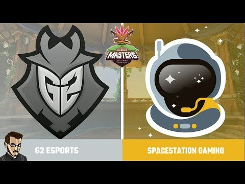 Paladins Spring Masters - Jour 1 Match 6 : G2 eSport (NA) Vs Spacestation Gaming (Brésil)