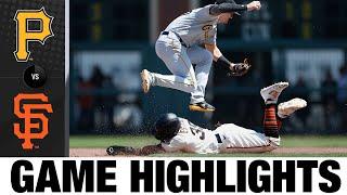 Pirates vs. Giants Highlights (7/25/21)