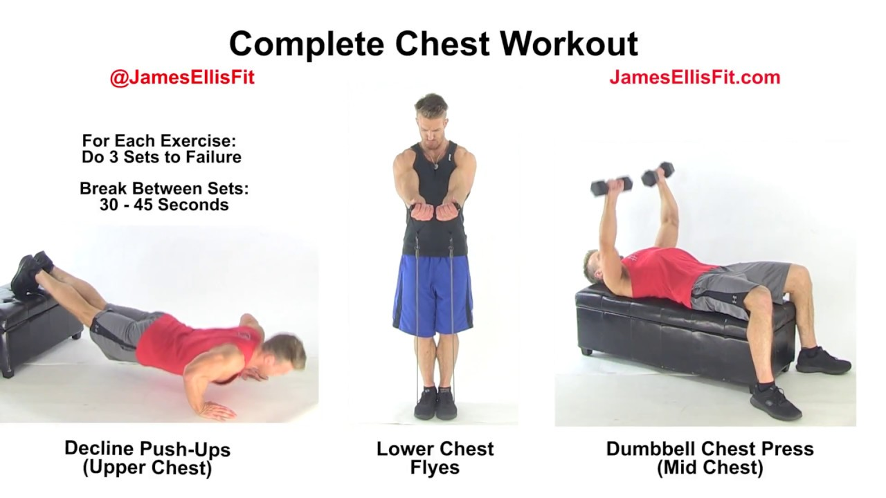how to get a ripped chest with dumbbells