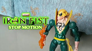 Marvel Iron Fist Fight Sequence Stop Motion Test