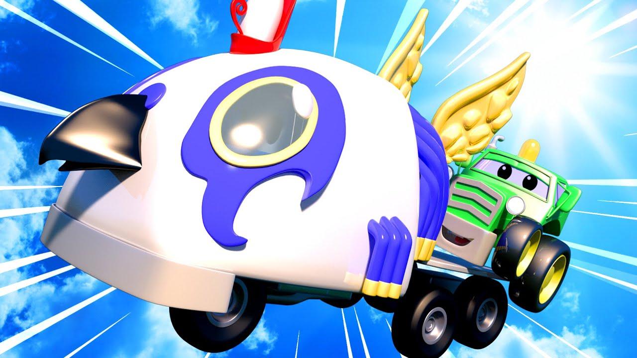 Ngày tựu trường đặc biệt - Thần Horus vĩ đại - Siêu xe tải Carl