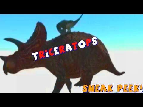 The Isle Dev Kit Sneak Peek & SAURIAN | Triceratops | New Dino Animations | pachycephalosaurus