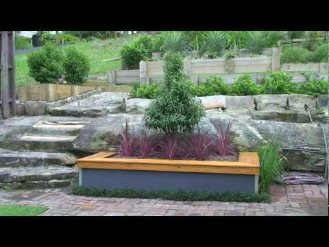 Build a garden bed with seat
