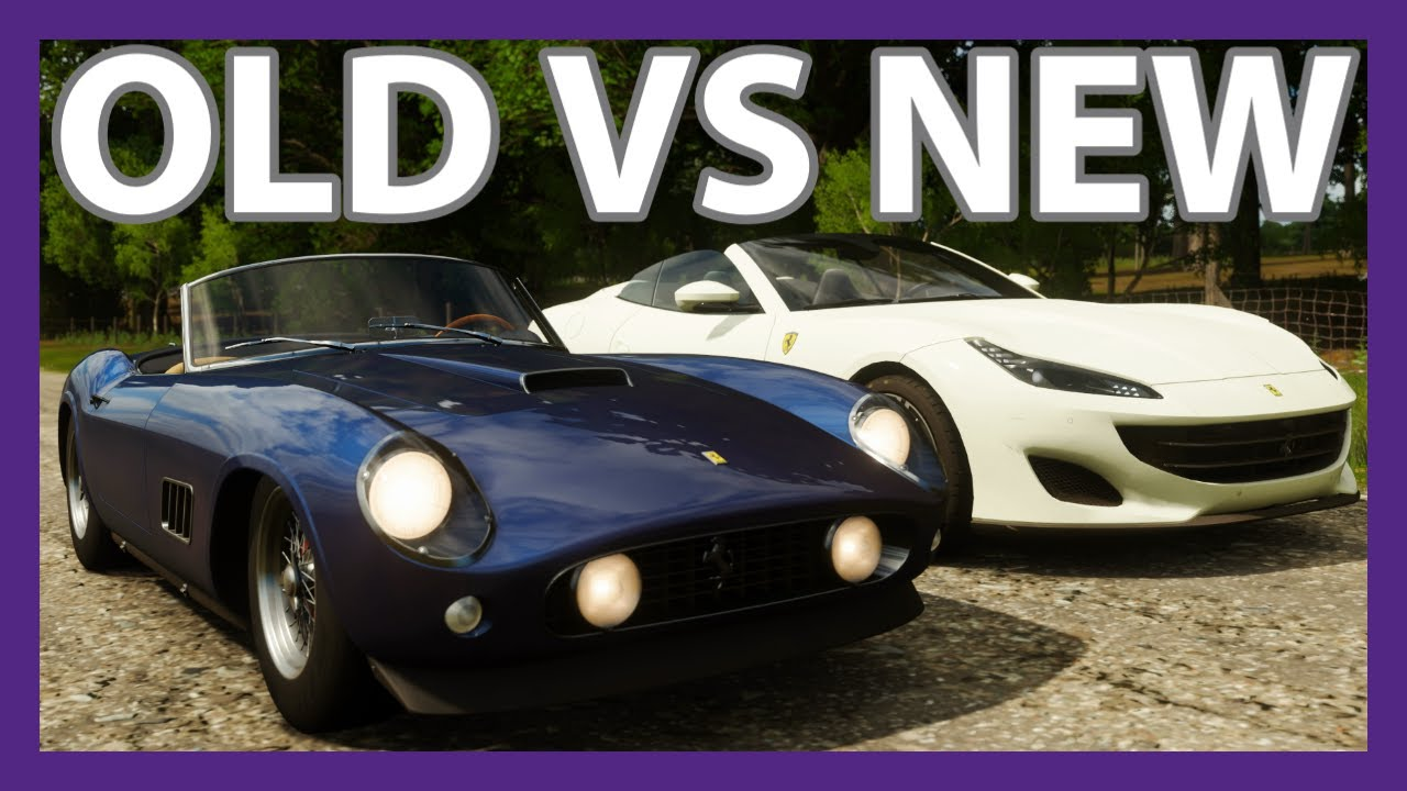 Old vs New Ferrari Convertibles | 250 California vs ...