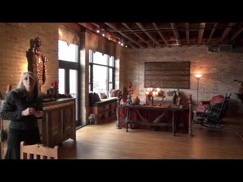 Rose Castro Brazos Lofts Downtown Austin Live Work Loft Tour Living Space