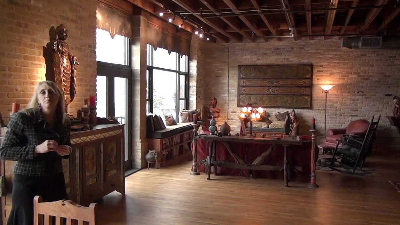 Exceptional Rose Castro Brazos Lofts Downtown Austin Live Work Loft Tour Living Space