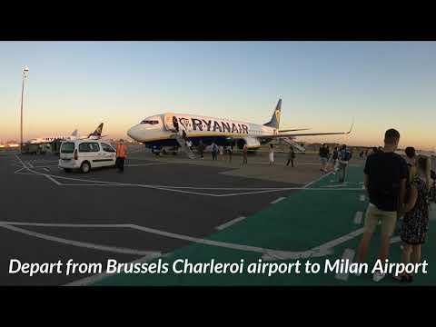 Milan Malpensa Airport 2020 4K video - جولة في مطار ميلان الدولي في ايطاليا