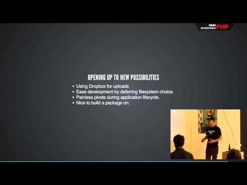 AmsterdamPHP Talk 16-10-2014: Filesystem Abstraction with Flysystem