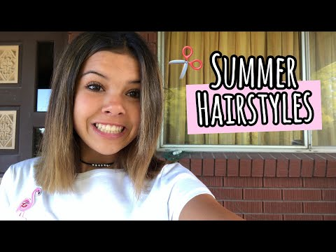 my SUMMER HAiRSTYLES!