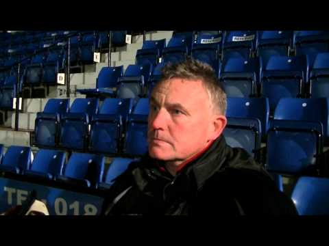 Greg clowes reaction Stafford Rangers vs Rushall Olympic 12/2/13