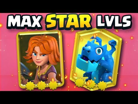 ALL MAXED STAR POWER GOLD CARDS in Clash Royale 2v2 - Nickatnyte & Molt