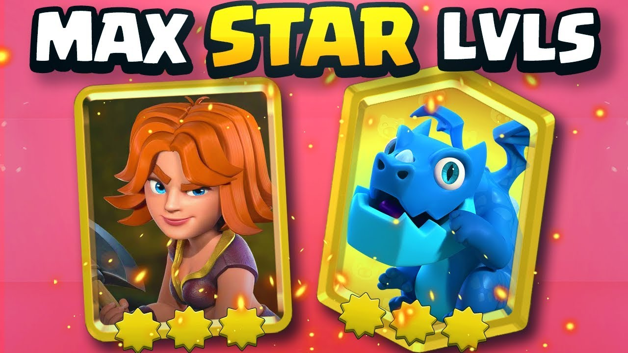 All Maxed Star Power Gold Cards In Clash Royale 2v2