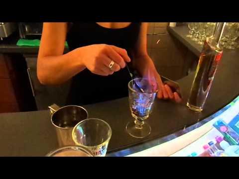 Drinking Absinthe In Prague