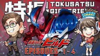 BEST MATCH – Kamen Rider Build Episodes 1–4   Tokusatsu Girlfriend Podcast #19