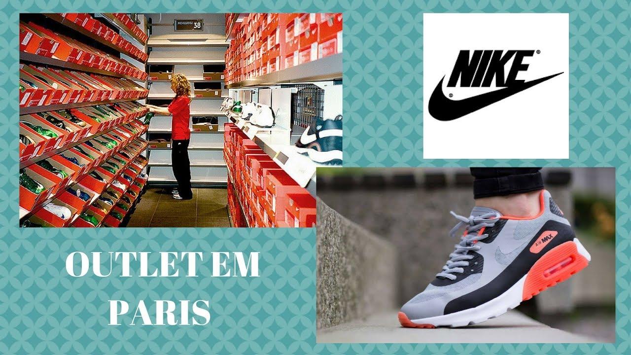 últimos diseños diversificados vista previa de brillo de color OUTLET DA NIKE EM PARIS - YouTube