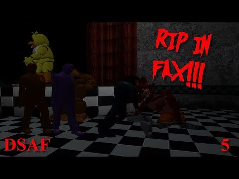 Day Shift at Freddy's | RIP IN FAX!!! [5]