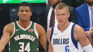Giannis Destroys Kristaps Porzingis & Entire Mavs While Luka Doncic Takes Over! Bucks vs Mavericks