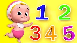 Nummern lied | Nummern auf Deutsch | Kids Song | Numbers Song