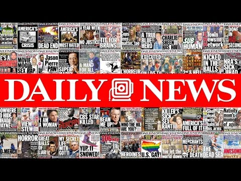 How We Covered It: New York Daily News Front Page Stories of 2015