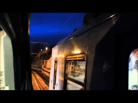 Euskotren Viajando en una 306 por la Linea del Txorrierri