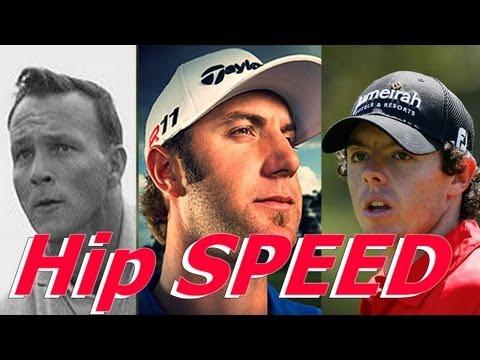 Golf Instruction: Speed: Dustin Johnson, Arnold Palmer, Rory McIlroy - 동영상