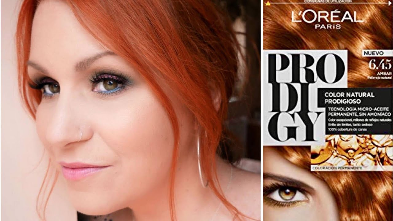 L Oreal Paris Prodigy Amber 6 45 Dying My Hair Copper