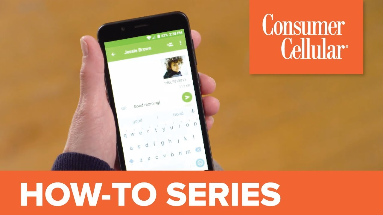 ZTE Avid 557: Sending and Receiving a Text Message (4 of 8) | Consumer  Cellular