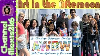 Disney Channel Stars- Art in the Afternoon 2017 | G Hannelius & AWBW | (Ep. 78)
