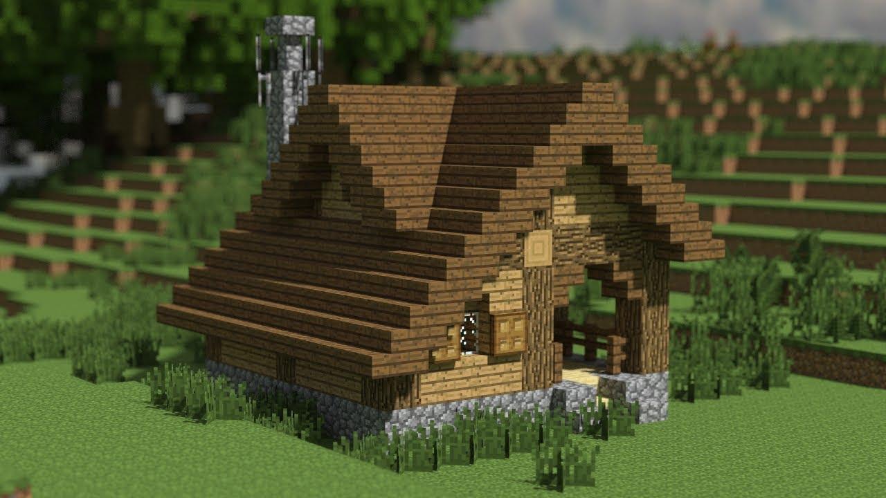уютные дома в майнкрафте фото