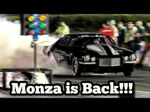 Monza Twin turbo Camaro vs David Bird Jones at Memphis No Prep Kings 2