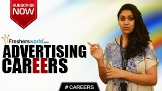 CAREERS IN ADVERTISING – Advertising Agencies,Event Planner,Learning Centres,Salary Package