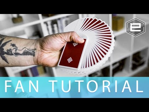 How To Fan Cards Like Magician