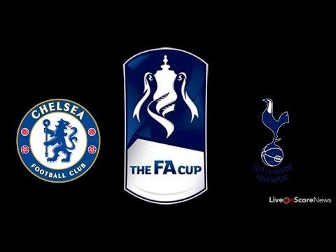 Chelsea Vs Tottenham Hotspur Full Match 1st Half - FA Cup 22th April 2017