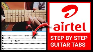 Airtel Tune Full Guitar Tabs / Lead Lesson Airtel 4g