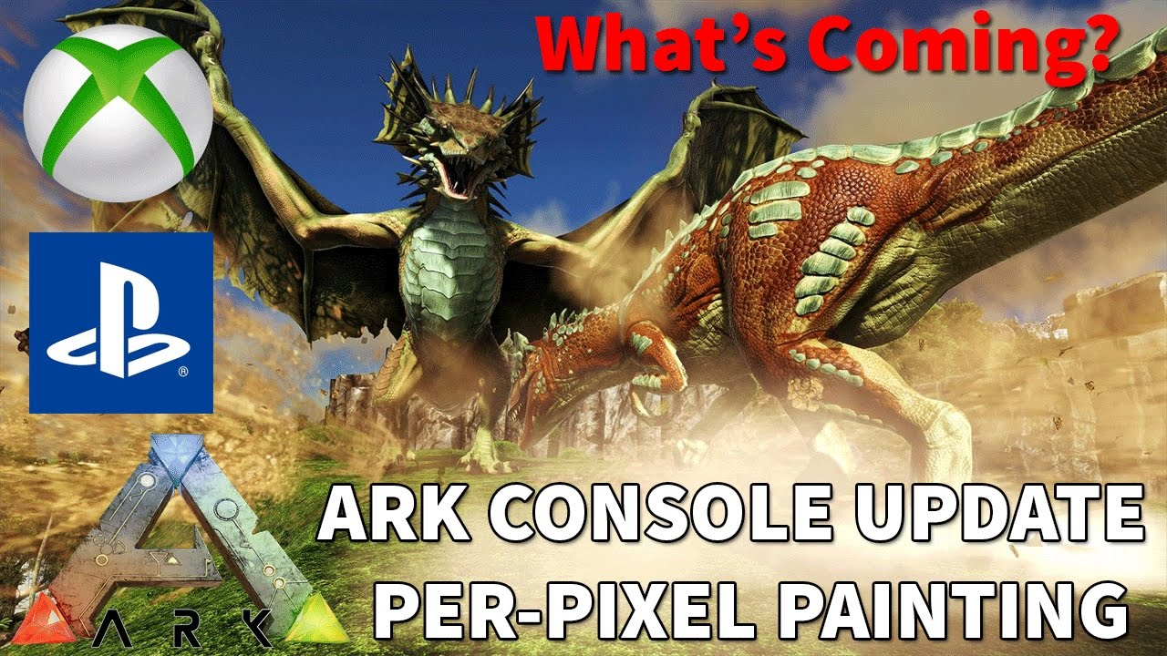 how to open console in ark