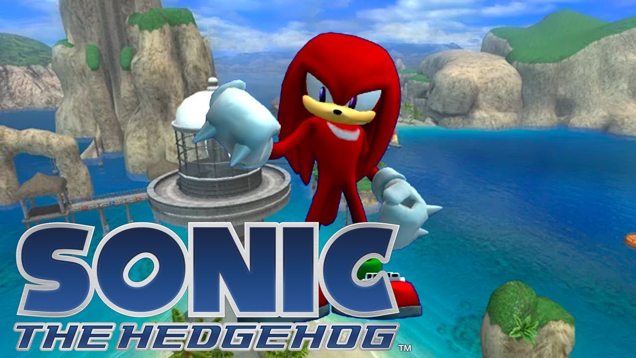 Sonic The Hedgehog 2006 Knuckles In Mach Speed Section