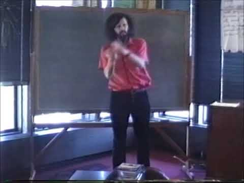 Racism workshop in Kenyon College 1990
