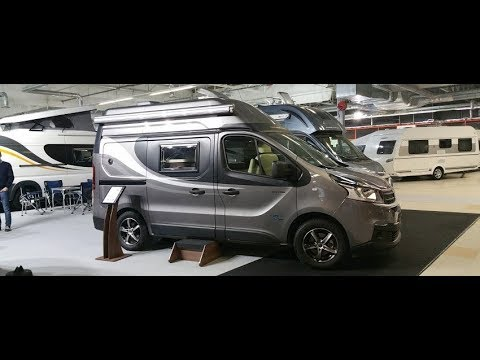 Tiny fully equipped camper : Globe Traveller Talento tour