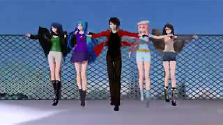 BTS - DNA (MMD) +Models DL