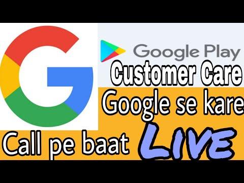 Google Play Help Line Number