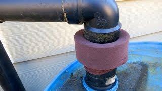 Diy Clog-free Rain Barrel Filter