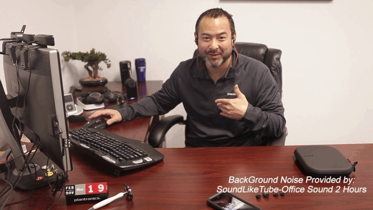 1eb15fc0b7e Plantronics Voyager 6200 UC Mic Test and More! - YouTube