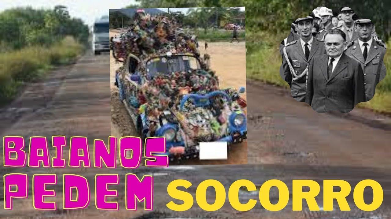O DESESPERO FAZ BAIANOS PEDIR SOCORRO A BOLSONARO E CLAMAM PELO O EXERCITO BRASILEIRO DIANTE DO CAOS