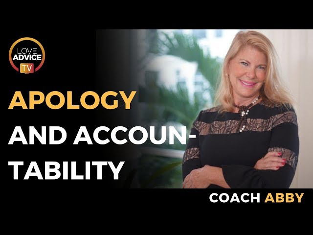 Apology And Accountability During A Breakup