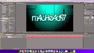 How To Make An Intro In After Effects CS4 CS5 (for beginners